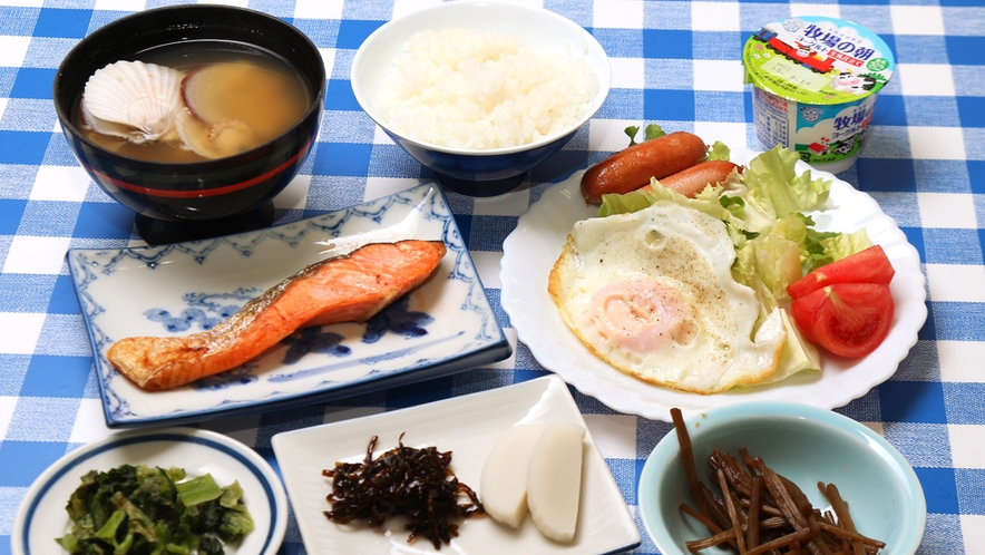 ◆朝食は、和定食です。朝はしっかり食べたいという方に!