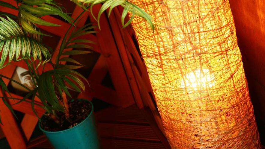 ◆居料理や(いろりや)の間接照明もいい雰囲気を出していて落ち着く空間を演出しています♪