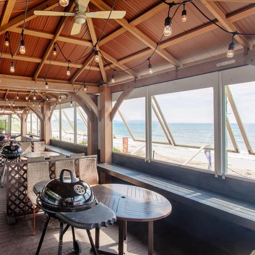 【The Palm Beach Club】海を眺めながら、BBQ。(事前要予約/別途有料)