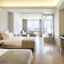 【ラ・ベージュ】ベージュを基調とした温かみのある客室