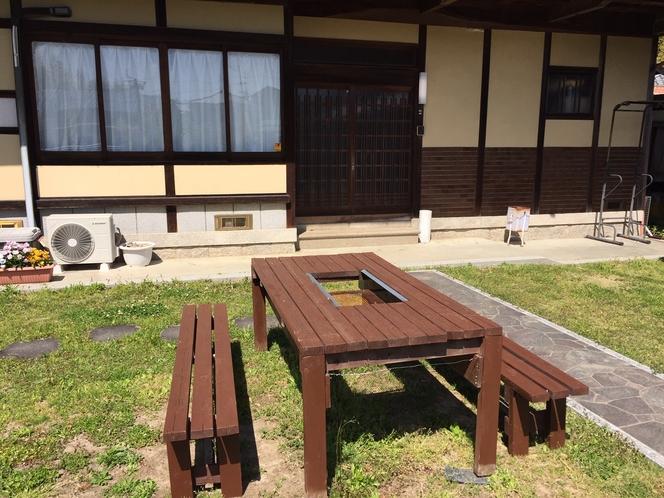 BBQテーブル(8人掛け)
