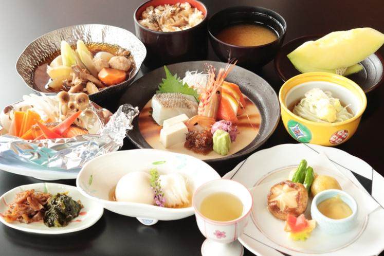 夕食【季節の旬彩膳】例