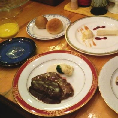 【誕生日などの記念日に】大切な人と過ごす★当館シェフによる手作りケーキ付♪「アニバーサリープラン」