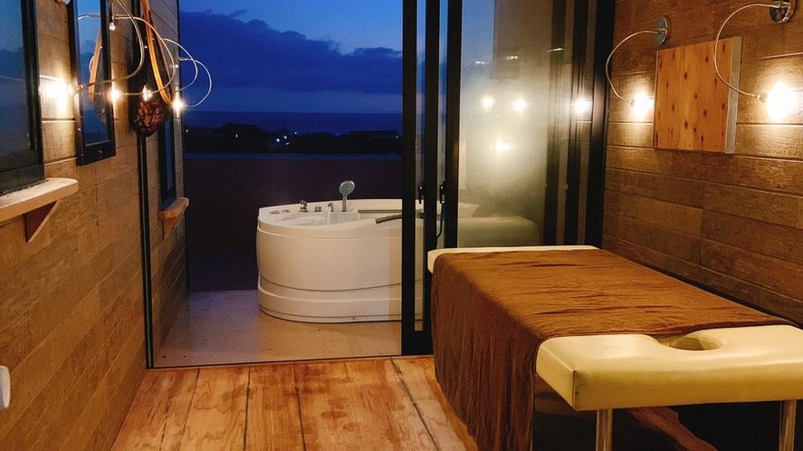 【貸切展望風呂】当ホテル人気の屋上ジャグジーが、1グループ45分2000円で登場です。※要事前予約