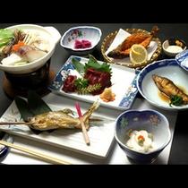 馬刺しに那珂川のアユ料理一例♪