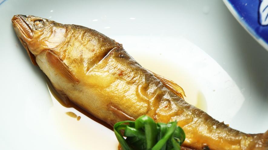 ■食事-那珂川でとれたアユは絶品♪