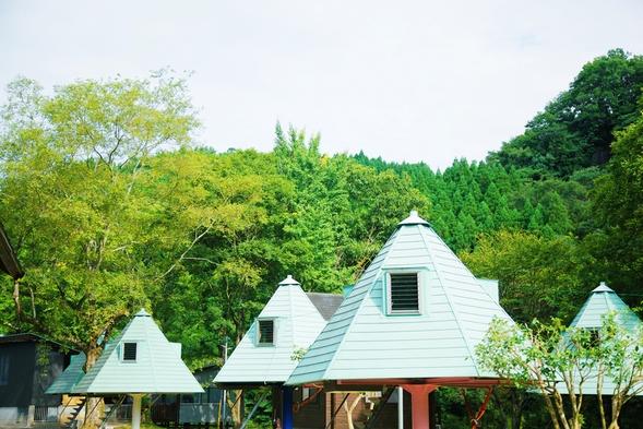 人気のツリー型ハウスに泊まってみよう★気軽に浮遊感を体験♪素泊まりプラン