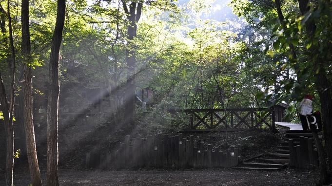 【素泊まり】森の中の静かなコテージで気持ちの良い時間★チェックイン〜アウトまで自由気ままに滞在プラン