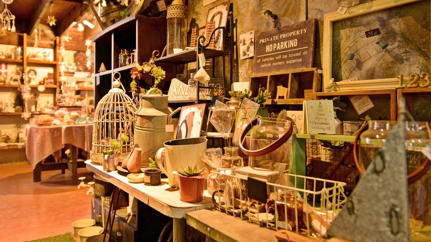 *【santa-zakka market VeryMerry】センターハウスの雑貨ショップです。