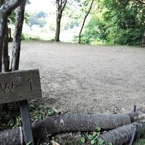 *【施設/キャンプ場】雑木林の中でのキャンプの楽しさを味わって下さい。