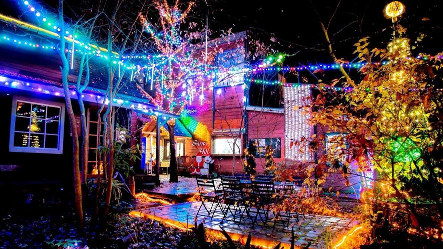 *【サンタヒルズ】冬こそサンタヒルズの季節♪大好評のイルミネーションで華やかに彩られます。