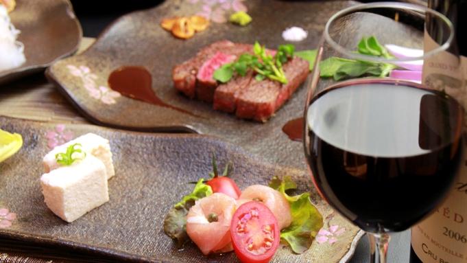 【小啄木プレミアム】A5-11の那須黒毛和牛のフィレステーキと新鮮な海鮮満載グルメ!