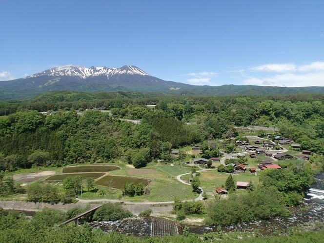 開田高原と御嶽山