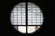 煤竹 和室 円窓 Susutake Tatami
