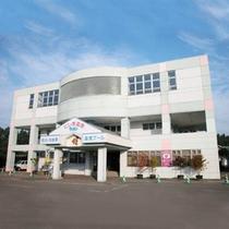 *【外観】人気の観光地、田沢湖と角館の中間に位置する温泉宿。