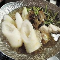 *【夕食一例】きりたんぽ鍋