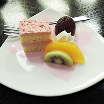 *【夕食一例】デザート