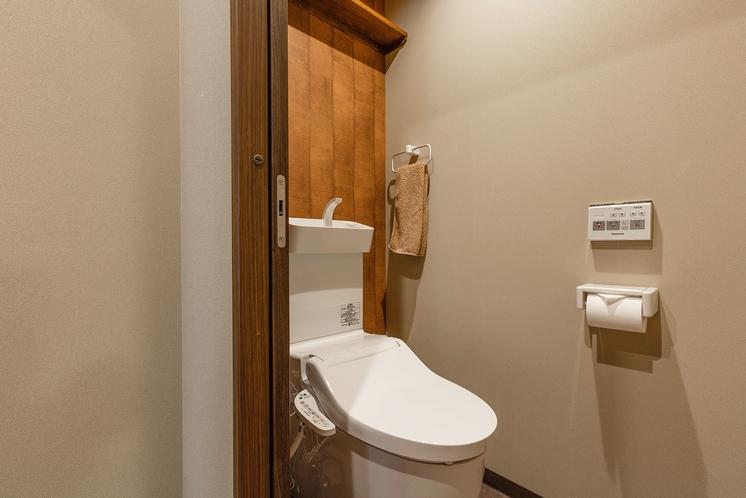 八重家かもがわ1階トイレ