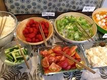 センターホテル三原朝食例