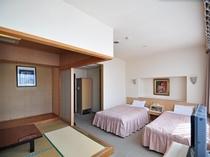 【スイート和洋室】和室と洋室でゆっくりとくつろげるお部屋
