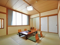 【和室】和室でくつろぎながら楽しいひと時をお過ごしください