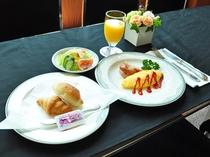 【朝食一例】洋食
