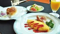 【朝食】サラダやオムレツでフレッシュに♪