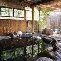 *【温泉】露天風呂も完備。源泉か掛け流しの湯をお楽しみください。