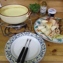 *【夕食一例】チーズ好きにはたまらない♪とろとろクリーミーな食感がやみつきになります。