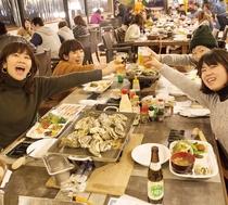 牡蠣90分食べ放題☆