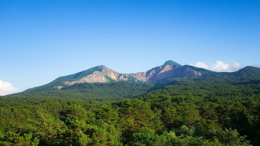 【磐梯山】古く万葉の時代から「会津嶺」として全国にその名を知られていました。