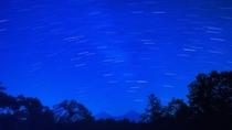 【満天の星空】夜には綺麗な星空が広がります。