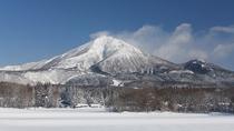 【冬の磐梯山】古く万葉の時代から「会津嶺」として全国にその名を知られていました。