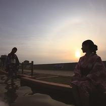 日本一長い足湯 ほっとふっと105