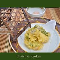 夕食の一例『天婦羅』
