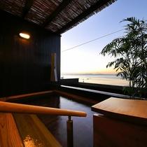 5階 貸切露天風呂(海の湯)