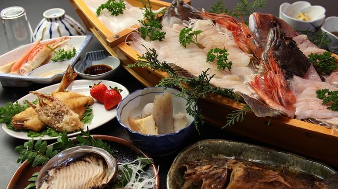 漁師の心意気☆地魚料理+大漁舟盛+活鮑≪どど〜んと豪華に活魚祭♪》