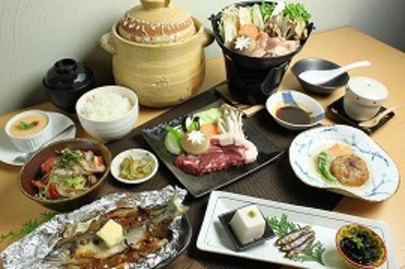 【地元食材盛りだくさん】秋のやどり満喫プラン【おかんの太っ腹コース】【添い寝無料】