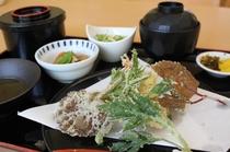 季節の天ぷら定食