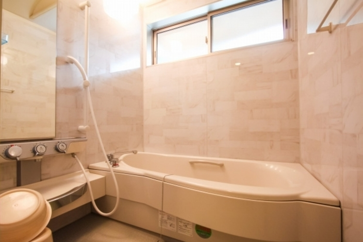 UB付きコテージ浴室