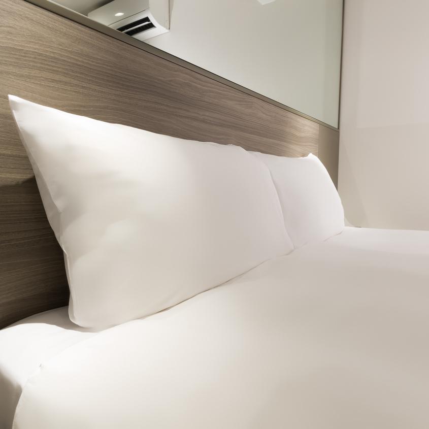 【こだわりのベッド&デュベ・全客室】こだわりの海外直輸入のベッド・ふわっふわの寝心地です