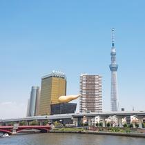 東京スカイツリー<<周辺観光>>都営浅草線2駅3分