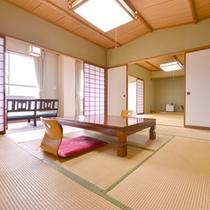 *和室8畳(客室一例)/ゆったり足を伸ばせる畳のお部屋でのんびりお寛ぎ下さい。