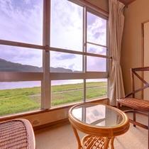*和室8畳(客室一例)/都会の喧騒を忘れさせてくれる自然豊かな関川村の渓谷美