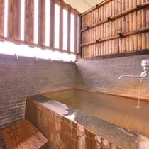 *お部屋の露天風呂(一例)/気兼ねなくプライベートな時をお過ごし下さい。