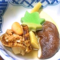 *お夕食一例/地元ならではの川魚や山菜を使ったお料理が魅力♪