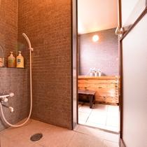 """*客室""""愛ちゃん""""/時間を気にせずゆっくりと露天風呂が愉しめます。"""