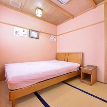 """*客室""""愛ちゃん""""/ふかふかのベッドで安眠の夜をお約束。"""