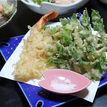 *夕食一例/天ぷら