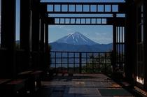 フフからの富士山
